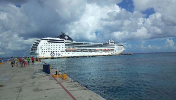 Im Hafen von Cozumel