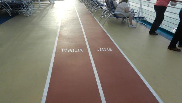 Jogging- und Walkingstrecke
