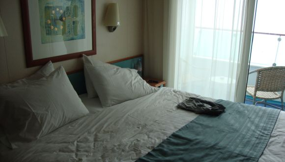 Balkonkabine Bett