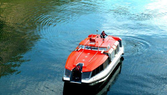 Ausschiffen mit Tenderbooten