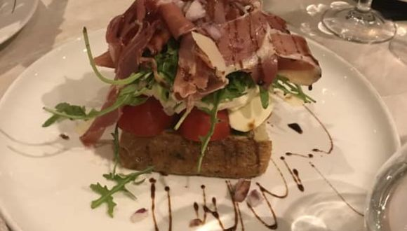 Vorspeise italienisches Restaurant