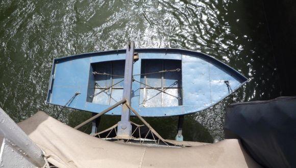 Das Rettungsboot für 40 Passagiere