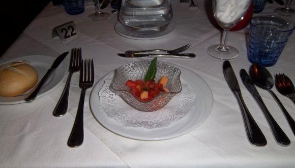 Eingedeckt/Abendessen