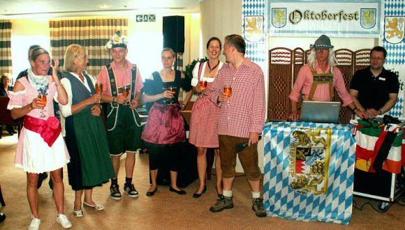 Bayerischer Frühschoppen an Bord