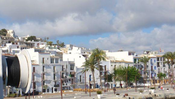 Sea Cloud Ii im Hafen von Ibiza