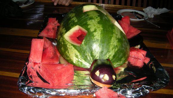 Obst als Nachtisch
