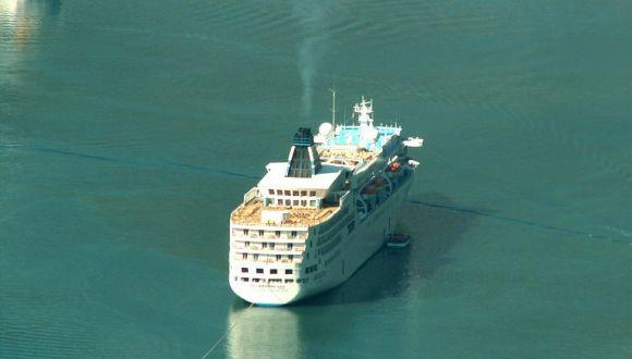 MS Delphin Voyager vor Geiranger/Norwege