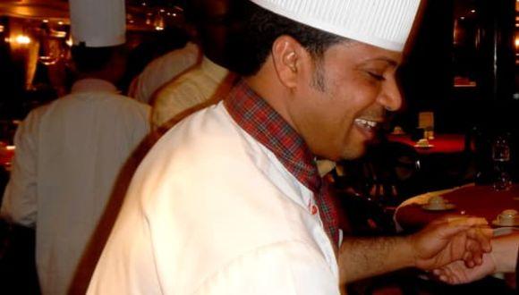 Ein Meister seines Fachs - Executive Chef Ahmed