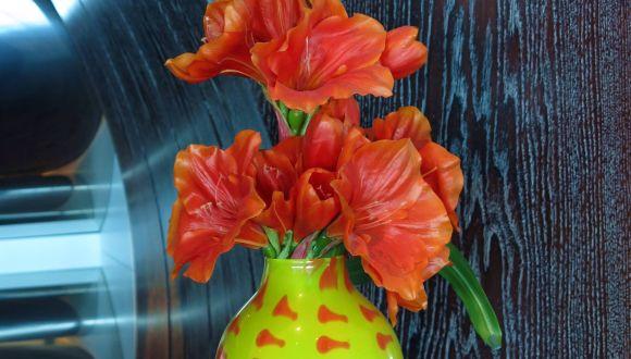 Vase im Tuscan Grille
