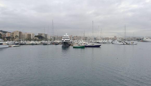 Wir erreichen Mallorca