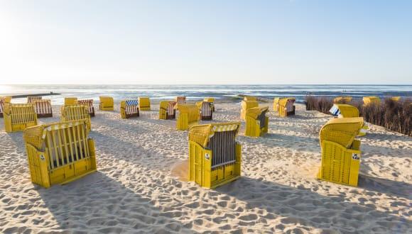 Strand, Cuxhaven, Deutschland