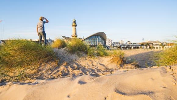 Strand, Rostock-Warnemünde, Deutschland