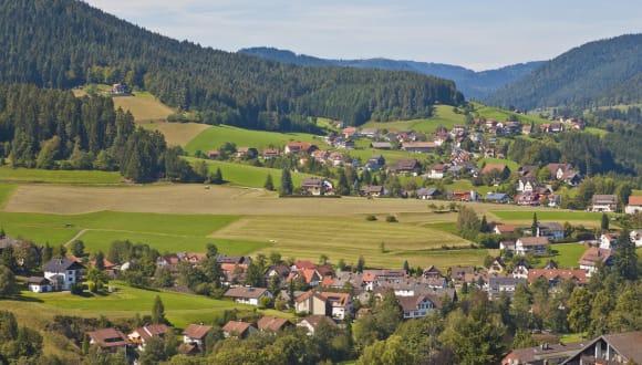 Stadt Baiersnronn, Schwarzwald, Deutschland