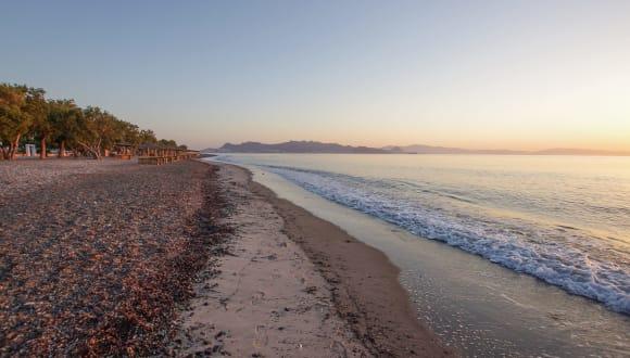 Strand Lambi, Kos, Griechenland