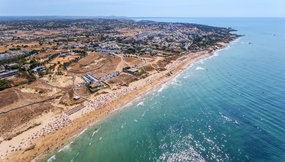 Strand Albufeira, Algarve, Portugal