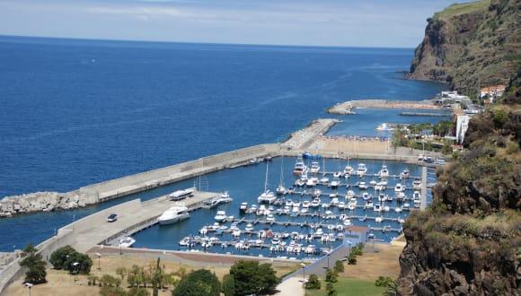 Hafen von Calheta, Madeira, Portugal
