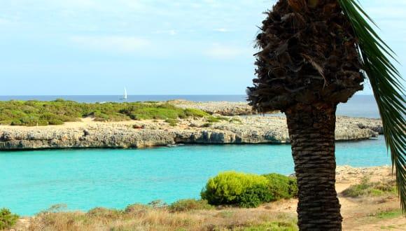 Cala en Bosch, Menorca, Spanien
