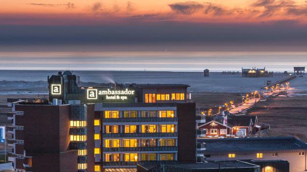 Deutschland Nordsee Ambassador Hotel Spa  Sterne Superior