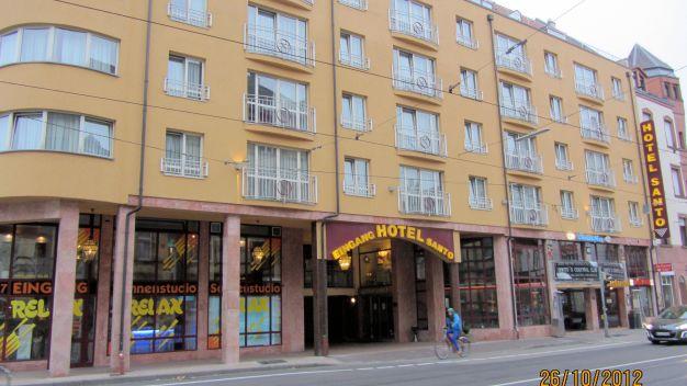 hotel santo in karlsruhe holidaycheck baden. Black Bedroom Furniture Sets. Home Design Ideas