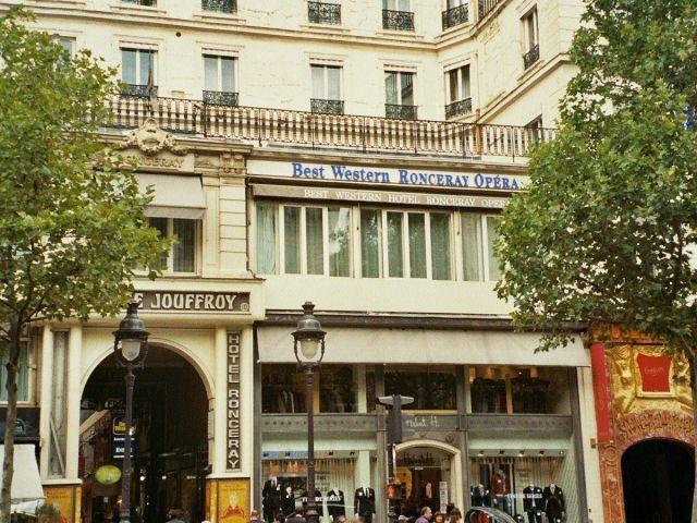 angebote best western hotel ronceray opera paris paris. Black Bedroom Furniture Sets. Home Design Ideas