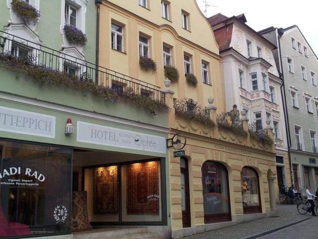 Orphee Regensburg Speisekarte