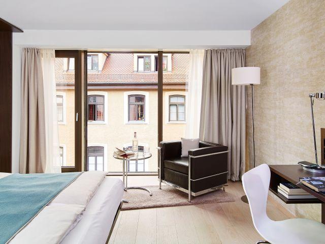 angebote living hotel das viktualienmarkt by derag m nchen g nstig online buchen. Black Bedroom Furniture Sets. Home Design Ideas