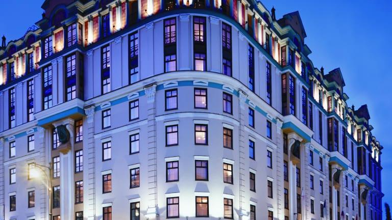 Hotel Moscow Marriott Grand Moskau Holidaycheck Zentralrussland Moskau Russland
